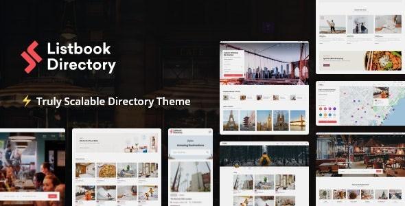 Listbook - WordPress Directory Listing Theme 1.0.13