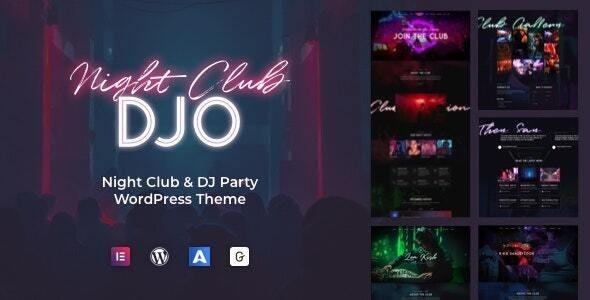 DJO - Night Club and DJ WordPress 1.0.8