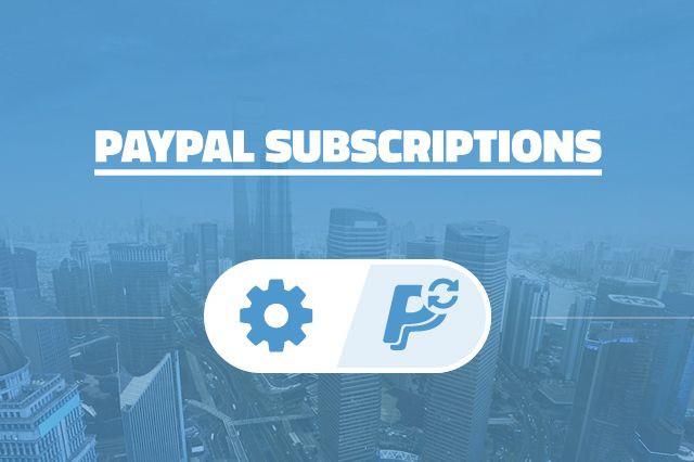 AIT PayPal Subscriptions 2.0.2