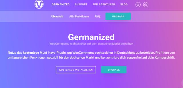 WooCommerce Germanized