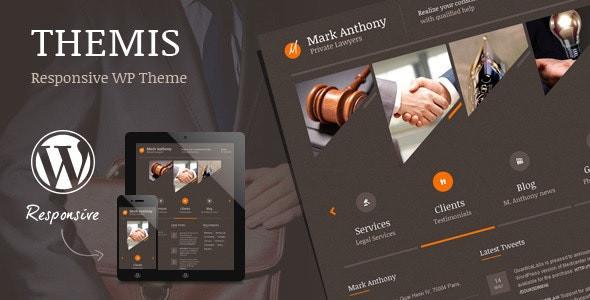 Themis - Law Lawyer Business WordPress Theme  Version: