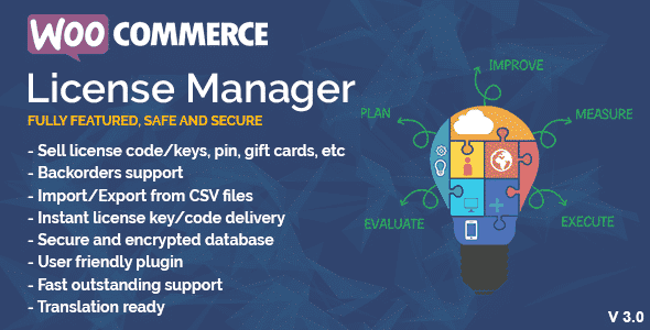 WooCommerce License Manager  4.3.5