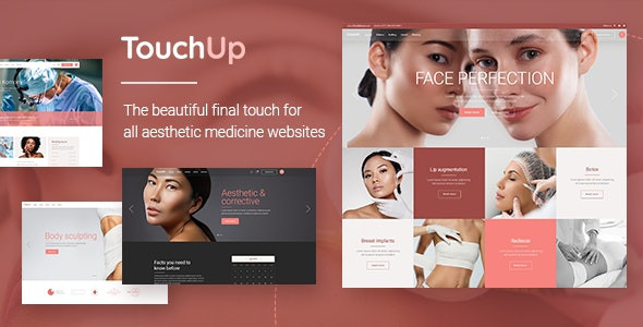 TouchUp - Cosmetic and Plastic Surgery Theme 1.2