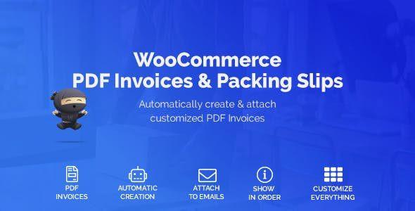 WooCommerce PDF Invoices & Packing Slips  1.3.16