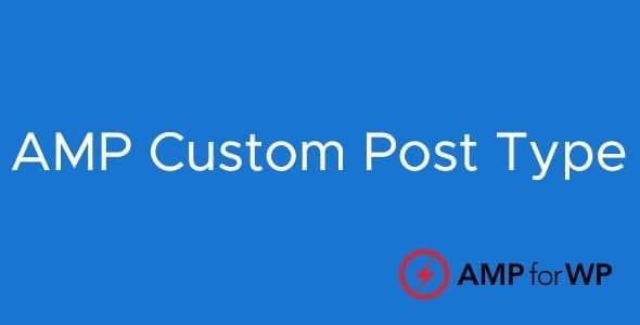 Custom Post Type Support for AMP  1.6.1