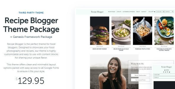StudioPress Recipe Blogger  1.2.0