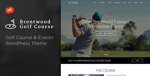 Brentwood - Golf Course Theme 2.9
