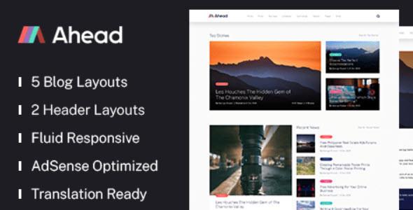 MyThemeShop Ahead WordPress Theme   1.0.9