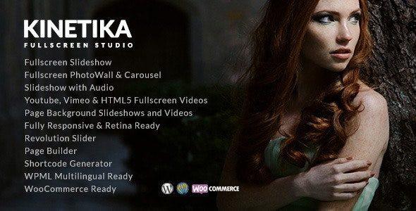 Kinetika - Fullscreen Photography Theme  6.5