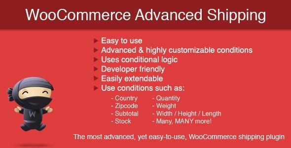 WooCommerce Advanced Shipping  1.1.7