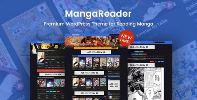 MangaReader - WordPress Theme 2.1.1