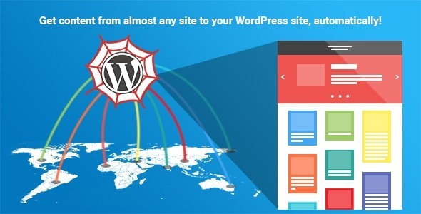 WP Content Crawler - Get content from almost any site, automatically! 1.11.0
