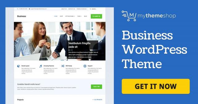 MyThemeShop Business - WordPress Theme  1.1.1